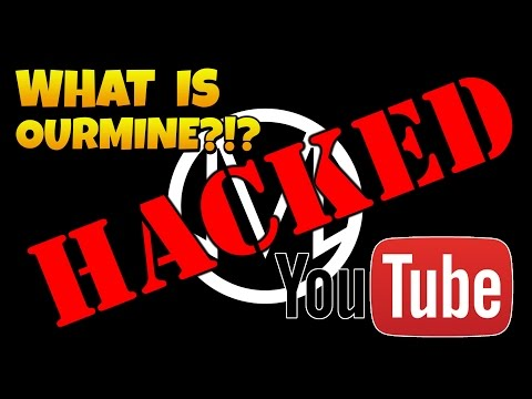 WHAT IS OURMINE?!? YouTube Hacked? April Fools Prank?