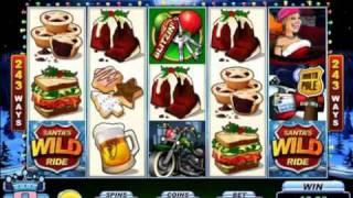 Игровые автоматы Santa's Wild Ride от Microgaming