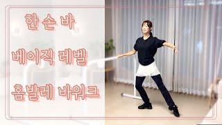 [발레 수업] 한손바 - 베이직 레벨 (홈발레 / 취미…