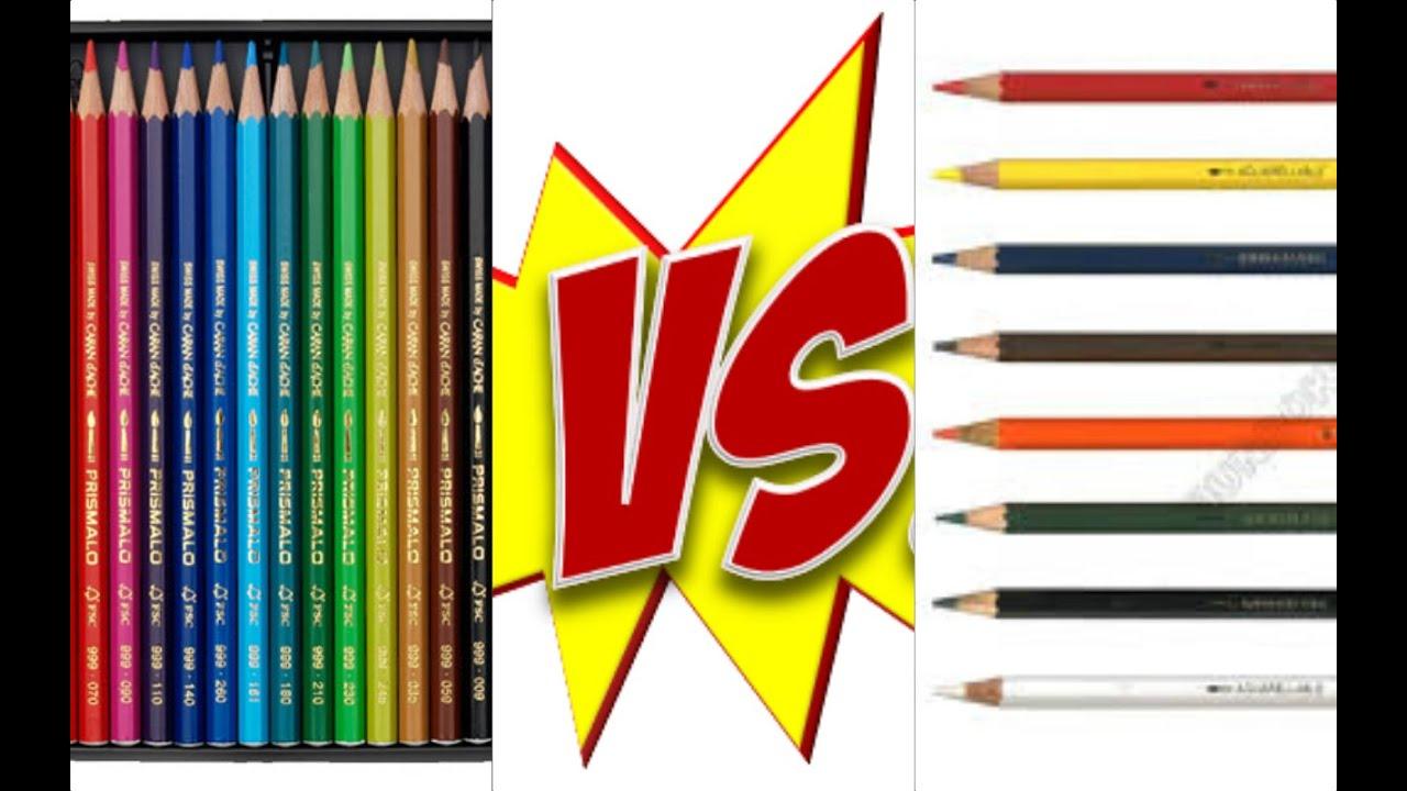 Colouring pencils for adults reviews - Stabilo V S Caran D Ache Color Pencils Review Cheap Vs Expensive