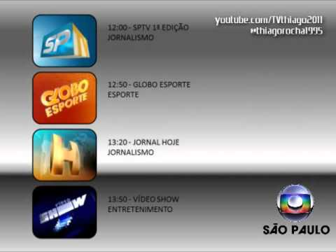 Sugestao Novo Encerramento De Programacao Rede Globo Youtube