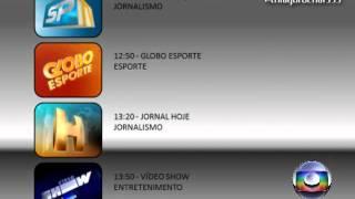 [SUGESTÃO] Novo encerramento de programação - Rede Globo