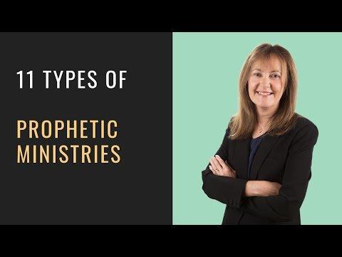 11 Types Of Prophetic Ministry - Helen Calder
