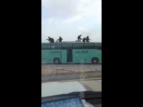 Dubai commandos on action