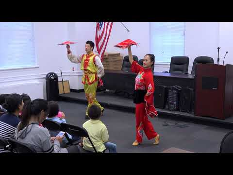 83044a10c NYCCC Celebrates Moon Festival 2018 @ Brooklyn Sunset Park Library - Handkerchief  Dance