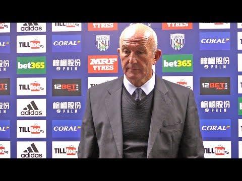 West Brom 0-4 Chelsea - Tony Pulis Post Match Press Conference - Premier League #WBACHE