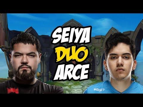 El REGRESO de SEIYA!!! Duo ARCE | Ranked LAN
