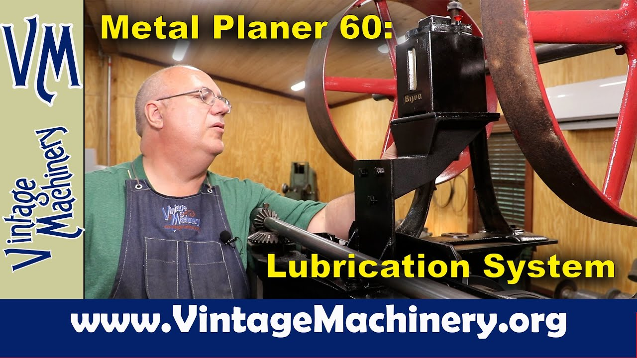 Metal Planer Restoration 60: Installing the Lubrication Pump and Plumbing