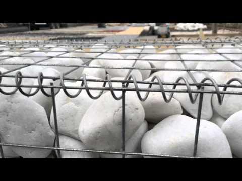 Gaviones piedra decorativos velestone youtube for Gaviones de piedra