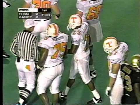 1996 Tennessee vs. Vanderbilt (John Ward - Vol Radio Network Broadcast)