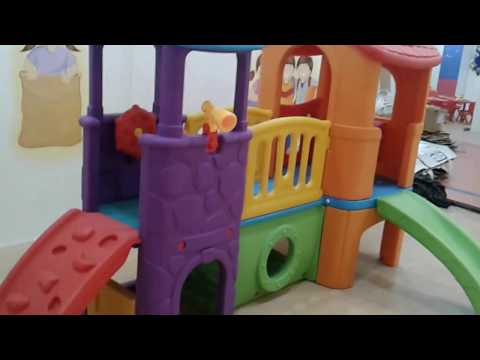 Play School Furniture And Play School Equipments MyKidsArena Mkb-201 My Amazing Playcenter