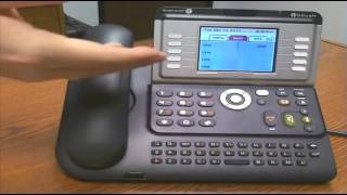 Alcatel Lucent 4068 IP Phone Overview