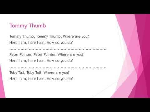 The song: Tommy Thumb