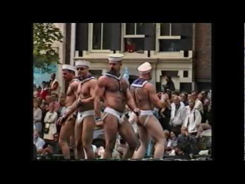 Gay Games 1998 Amsterdam The Canal Pride.