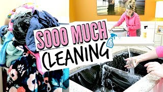 💖ULTIMATE CLEAN WITH ME   MAJOR CLEANING MOTIVATION with CLEANING MUSIC