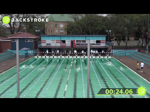 #203 Mixed 50 LC Meter Backstroke Heat 6 of 6 Finals