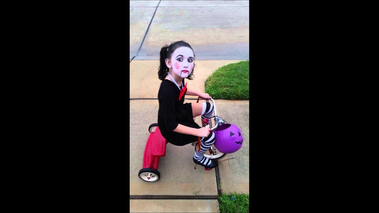 Jigsaw Halloween costume.  sc 1 st  YouTube & Jigsaw Halloween costume. - YouTube