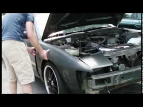Project 240sx Part 1 Arrival Of The Body Kit Youtube