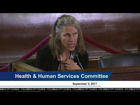 City Council Committee Hearing: Health & Human Services, Finance & Workforce Development