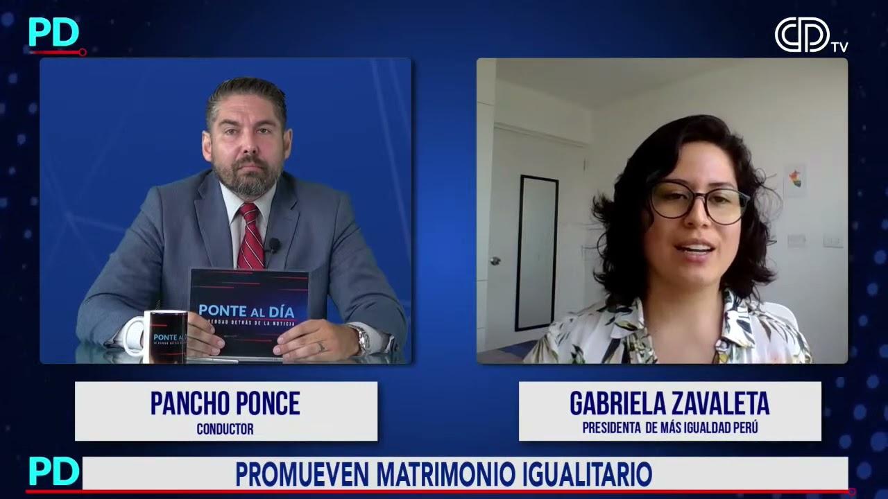 Entrevista en Ponte al día   Sí, Acepto Perú