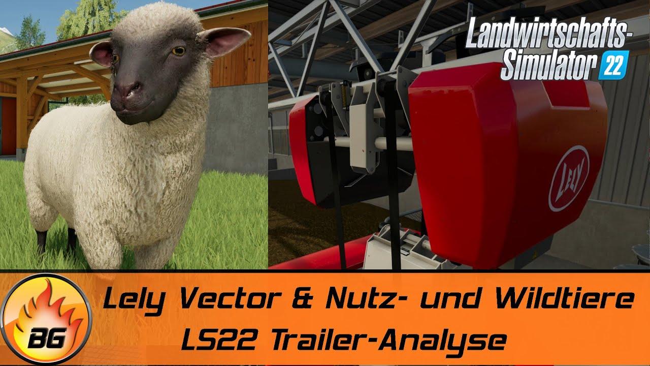 LS22: Lely Vector Fütterungsroboter, Nutz- und Wildtiere & mehr! | FARMING SIMULATOR 22 [HD]