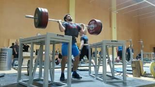 Сильнейшие тяжелоатлеты России на сборах 2