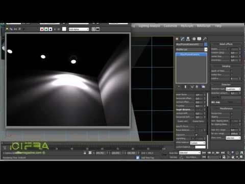Объекты Photometric Light и VrayIES. формат IES в 3ds Max