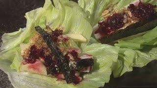 (現代心素派)  - 香積料理 - 洛神花果醬&手工蔬果卷