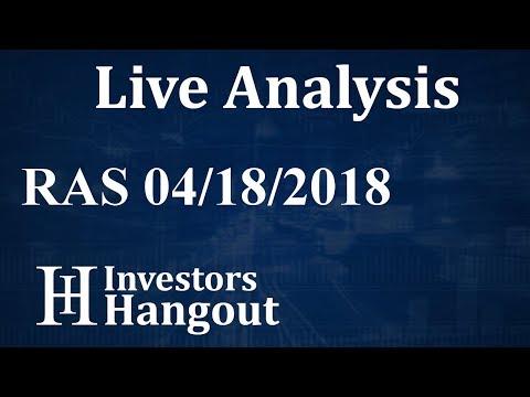 RAS Stock RAIT Financial Trust Live Analysis 04-18-2018