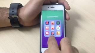 كيفية تنزيل الفيديوات بتطبيق عربي رهييب من كافة المواقع بسهوولة على الايفون وتحويلها الى mp3  2016