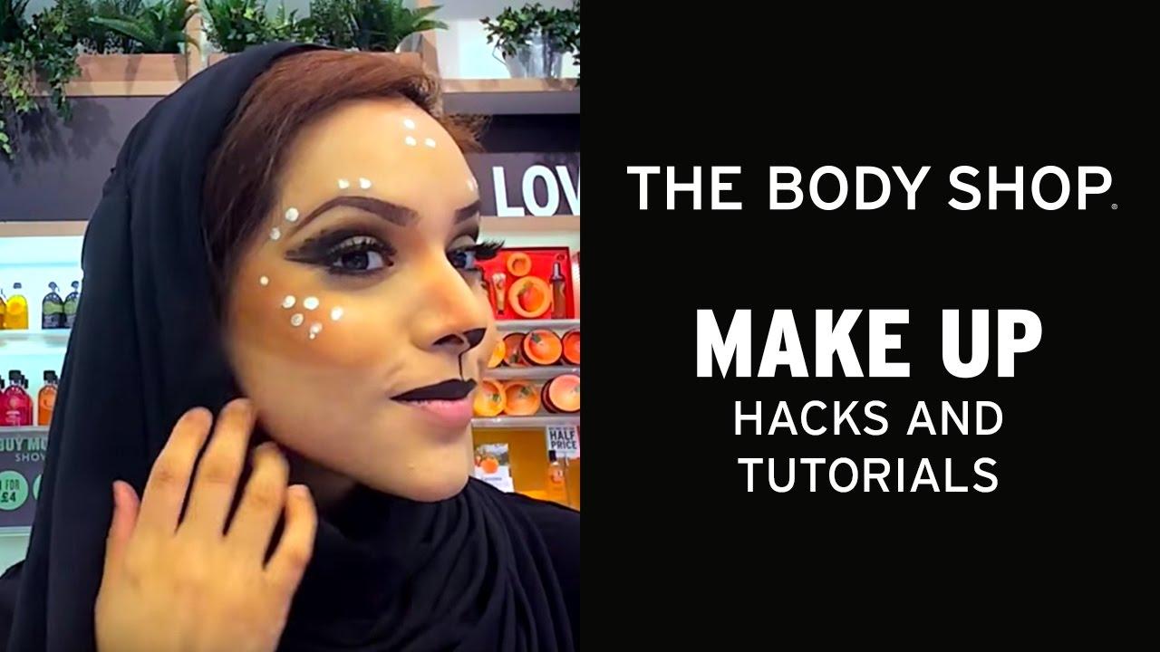 Halloween Makeup Stores Near Me.Halloween Makeup Tutorials Wild Deer The Body Shop Youtube