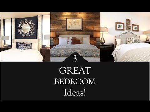Interior Design | 3 Great Bedroom Design Ideas