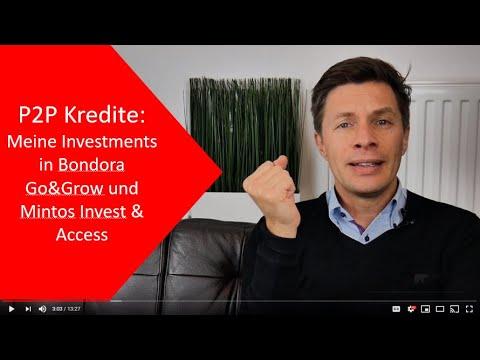 Bondora Go & Grow und Mintos Invest & Access: Meine P2P Investments