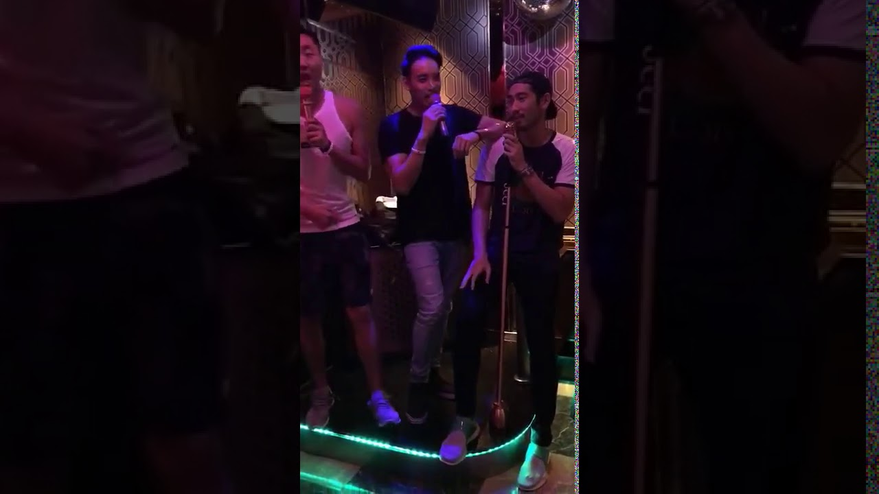 Godfrey Gao _ Karaoke with friends