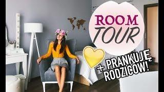 ROOM TOUR nowego pokoju ♡ PRANKUJĘ moich RODZICÓW!