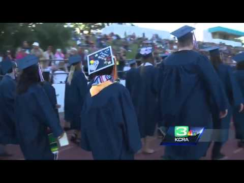 At 11, student crosses stage at American River College