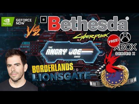 AJSNews 2/24 - Cyberpunk FREE On Xbox X? Warcraft FAIL! Bethesda Drops GeforceNow, Borderlands Film!