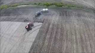 Seeding 2015 in Saskatchewan, Canada (DJI Phantom)