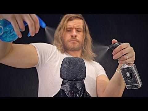 Ultra Fast RAW Barbershop Spray Sounds 💦💈ASMR💈💦