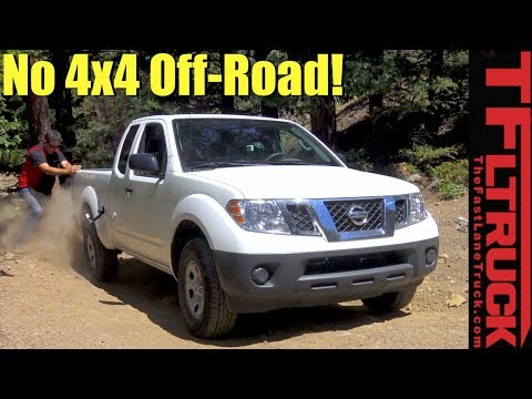 Can a 2WD Nissan Frontier Make it up Gold Mine Hill?