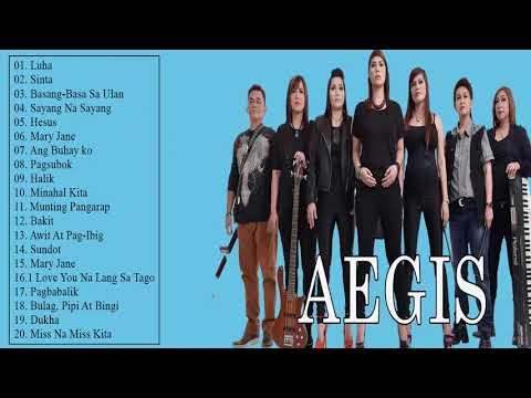 AEGIS Greatest Hits Songs (Full Album) - Aegis Best OPM Tagalog Love Songs Of All time