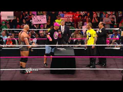 Ryback makes a major statement after Mr. McMahon names him CM Punk's opponent for Hell in a Cell