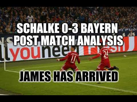 Schalke 0-3 Bayern Munich Post Match Analysis Reaction - 19.9.17