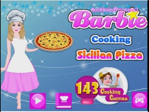 Barbie Cooking Game Play Cooking Games For Girls Youtube