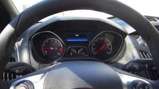 Ford Vehicle Test Mode Screens (2014 Ford Focus ST)