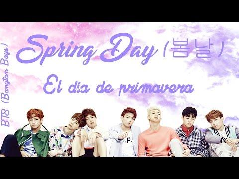 BTS   Spring Day 봄날 - Romanización Sub Español + Download