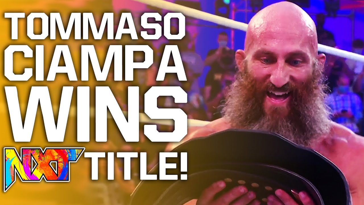 Tommaso Ciampa Wins NXT Title | WWE Superstar Moved To Raw Roster