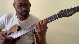 Lionel Loueke / Benny's Tune / Zaletelj Lady T semi-hollow by LL