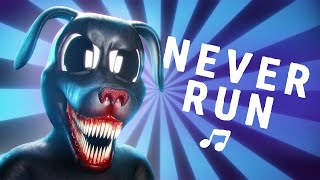 Cartoon Dog  'Never Run' (official song)
