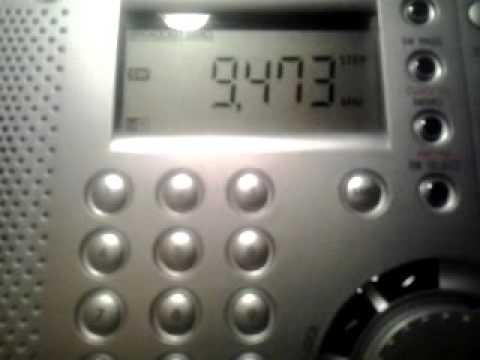 CRI shortwave 9473 kHz - China Radio International on Shortwave 2015